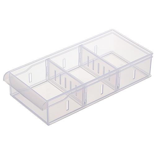 Fine隔板整理盒-1.25L(26.6*12*5.7cm)【愛買】