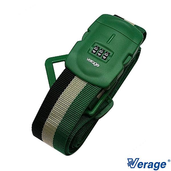 Verage十字三碼束帶-旅行箱綁帶束帶綠379-5304戶外旅遊出國行李束帶
