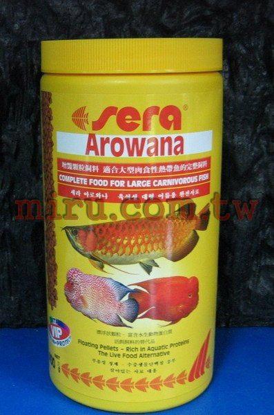 西高地水族坊德國SERA大型魚增艷飼料大型魚增艷大顆粒飼料1000ml