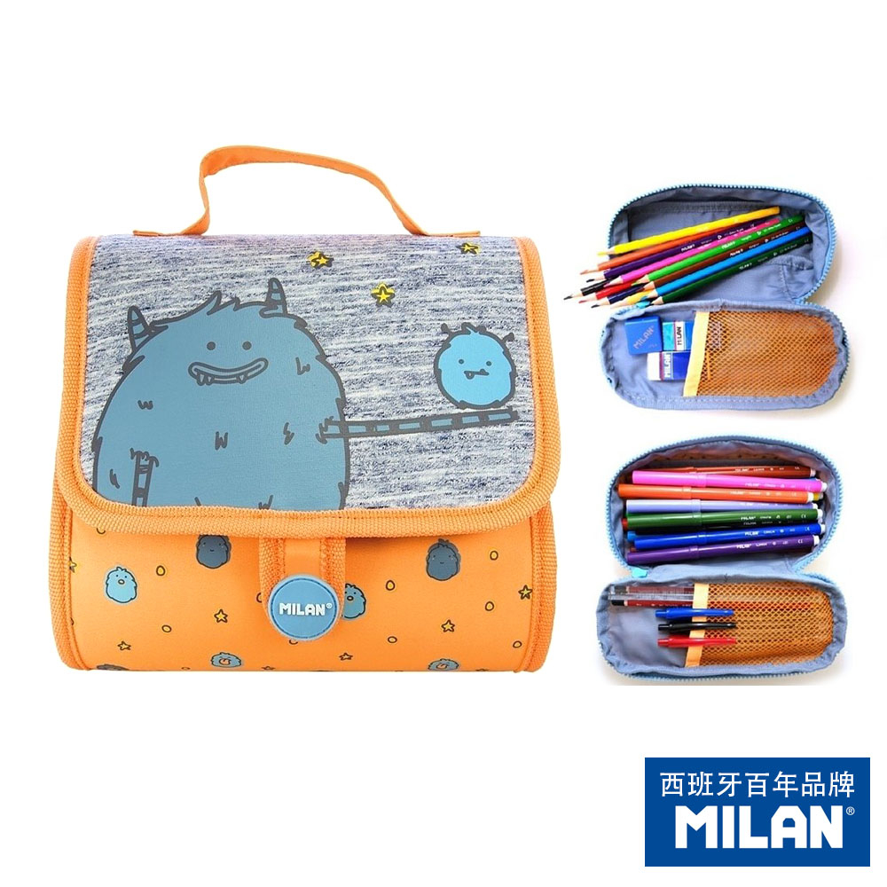 【MILAN】隨行畫筆袋著走_MIMO家族_Papa&Mimo(兩口式)