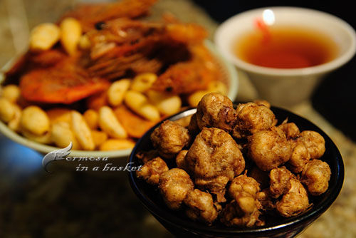 香脆酥龍珠~麻辣口味~~蝦噗SHOP~(另有十包的優惠價)