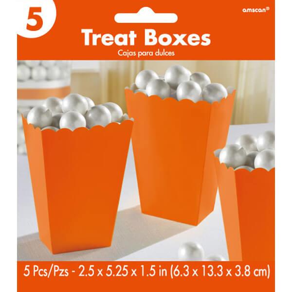 5.25吋爆米花盒5入-香吉士橘