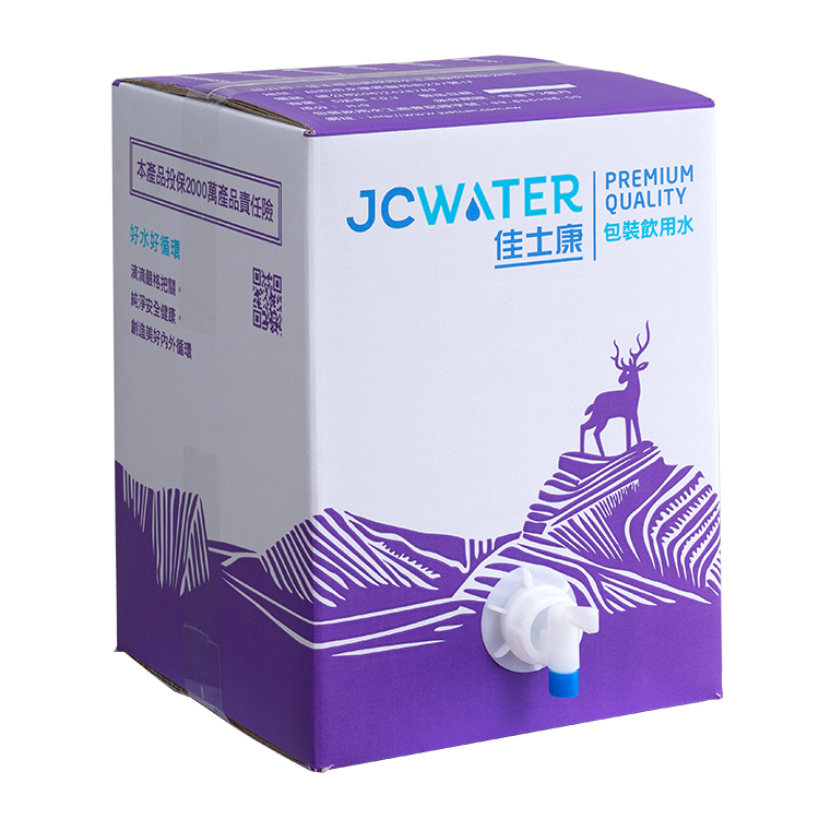 活動用箱裝水附水龍頭20公升-佳士康