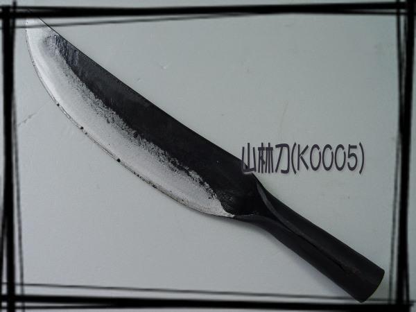 郭常喜與興達刀具-手工山林用刀(K0005)登山/開山/番刀野外求生好幫手