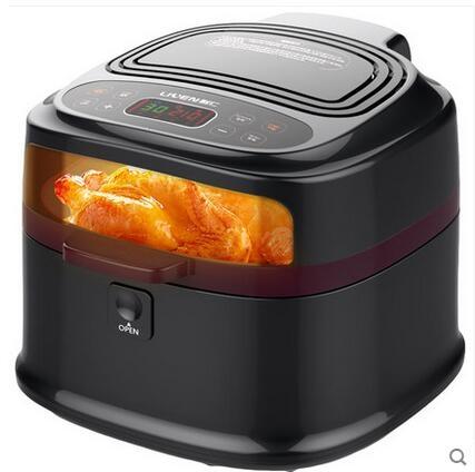 電壓220v利仁空氣炸鍋家用智能無油電炸鍋多功能大容量炸薯條機KZ-D8000B