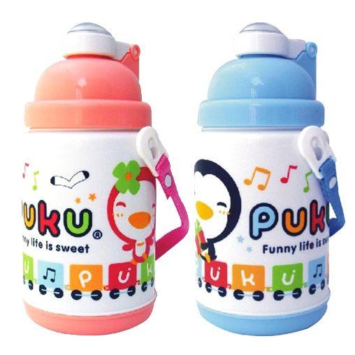 PUKU藍色企鵝保溫水壺375ML台灣製造兒童水壺日月星媽咪寶貝館