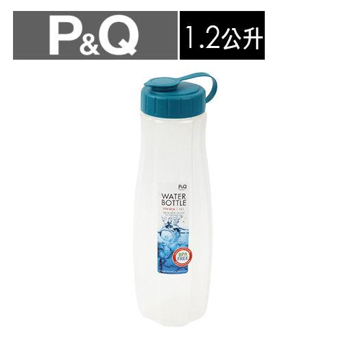 樂扣樂扣P&Q水壺1.2L/藍