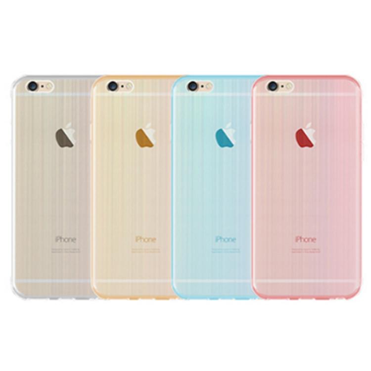 軟殼 手機套 背蓋 iPhone 6 s plus   手機殼 保護套 清水套【DA0016】佰 極美 雷射拉絲 TPU