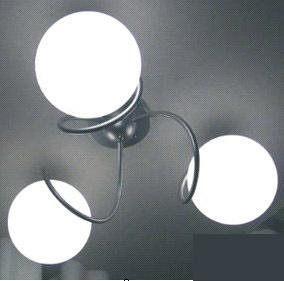 圓球臥室燈3頭龍珠餐廳吸頂燈 燈飾燈具