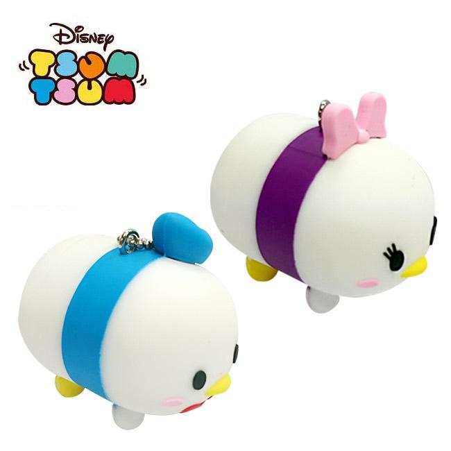 兩款一組日本進口唐老鴨黛西TSUM TSUM疊疊樂吊飾迪士尼Disney 079777