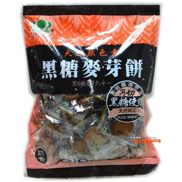 吉嘉食品昇田黑糖麥芽餅麥芽糖台灣製~使用角切黑糖500公克原廠包103元1 00716