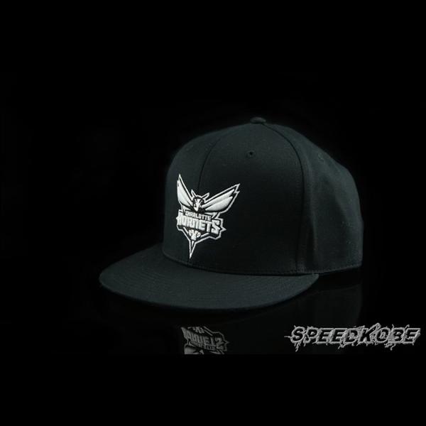 創信NBA SNAPBACK棒球帽嘻哈帽黑白黃蜂8531303-009 speedkobe