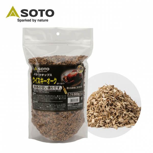 [SOTO] 煙燻紅糖威士忌橡木木屑 (ST-1317)
