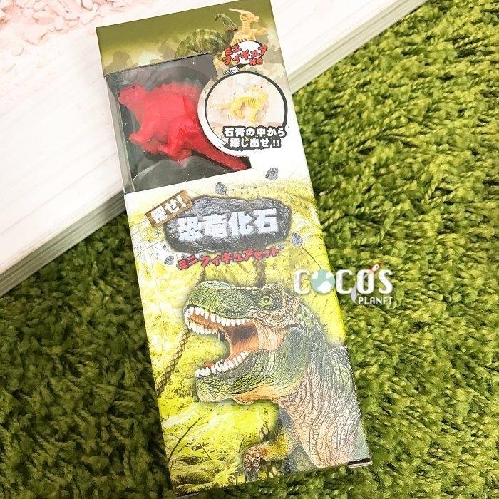 日本正版 恐龍化石 恐龍化石挖掘 恐龍化石考古挖掘玩具 恐龍公仔擺飾 B款 COCOS DK069