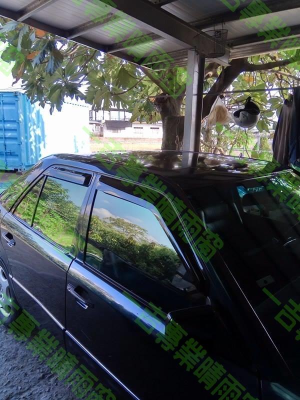 一吉84-95年賓士W124舊E系列外銷日本原廠型晴雨窗W124晴雨窗W124晴雨窗E220晴雨窗