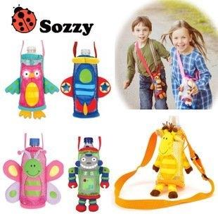 發現好貨SOZZY寶寶外出水壺背包袋嬰兒奶瓶袋兒童飲料袋小包包兒童水壺