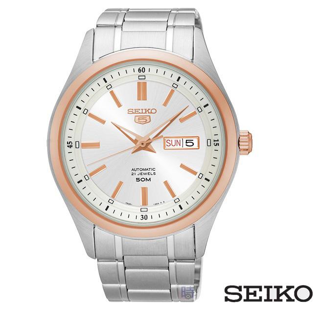 精工5號SEIKO機械錶男錶SNKN90J1 7S26-04M0KS免運44mm