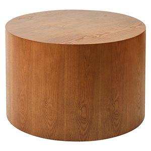 源之氣原木大圓60公分靜坐墊原木座無坎平面RM-40309