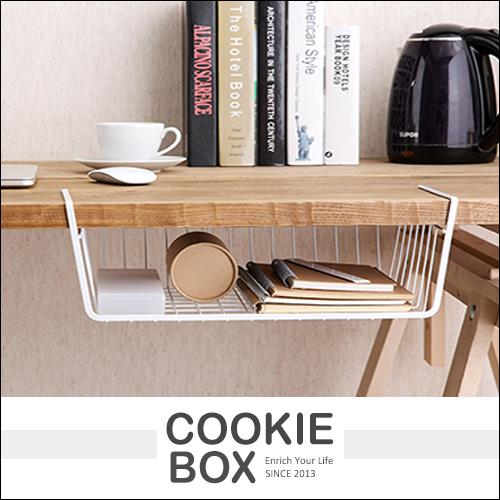 收納置物架挂架挂籃收納架整理隔層壁櫃儲物架工業風辦公室廚房隨機出貨*餅乾盒子