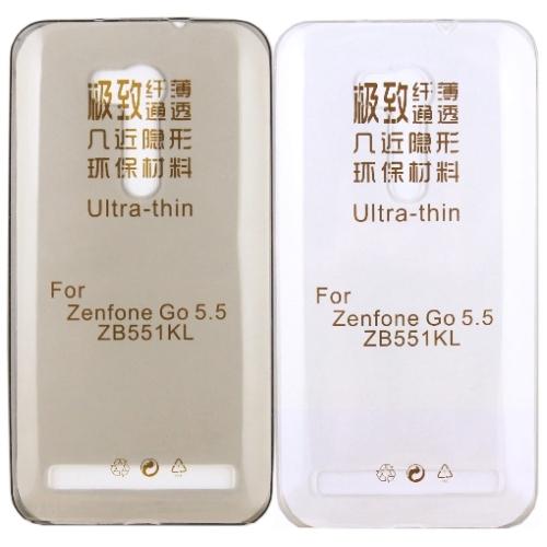 ASUS ZenFone GO TV ZB551KL 5.5吋極薄隱形保護套買一送一不挑色