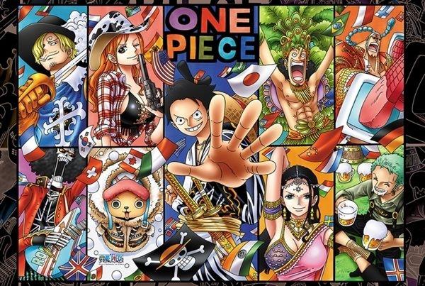 拼圖總動員PUZZLE STORY航海王-四海一家PuzzleStory海賊王One Piece 1000P