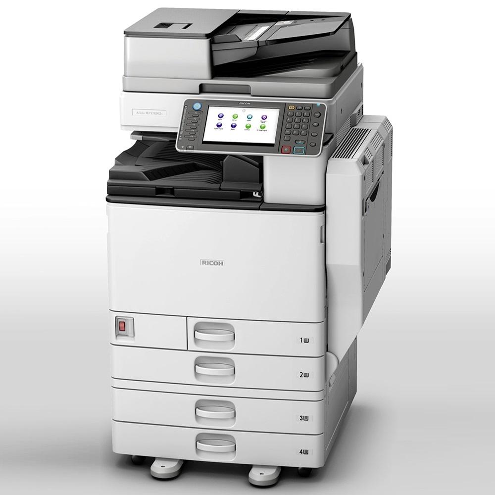 理光RICOH MPC 5502全功能彩色影印機福利品展示機出清