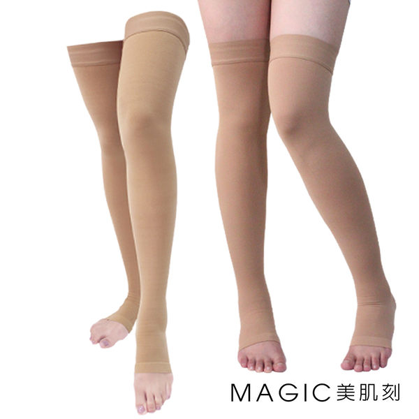 美肌刻Magic醫用輔助大腿壓力襪漸進式壓力襪靜脈曲張彈性襪JG-3010
