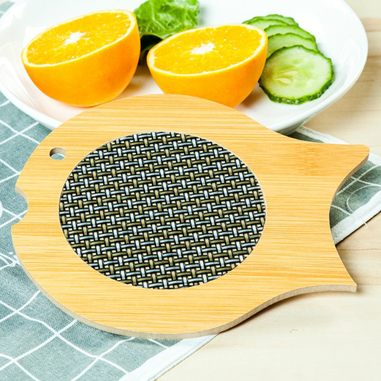 ♚MY COLOR♚竹木造型防燙餐墊 防燙 廚房 湯鍋 用餐 防滑 餐墊 杯墊 盤墊 保護【Q248-1】