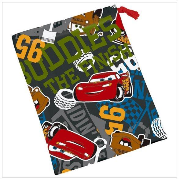 日本DISNEY麥昆CAR'S car's漱口杯專用束口袋小物袋零食袋