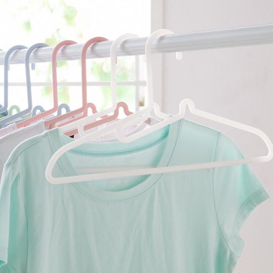 ♚MY COLOR♚S型不傷領衣架(五個裝) 晾曬 曬衣 懸掛 曝曬 陽台 針織 無痕 掛衣 防滑【L05-1】