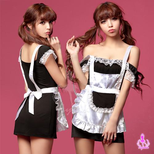 小蓋袖二件式女僕角色扮演服OS小舖