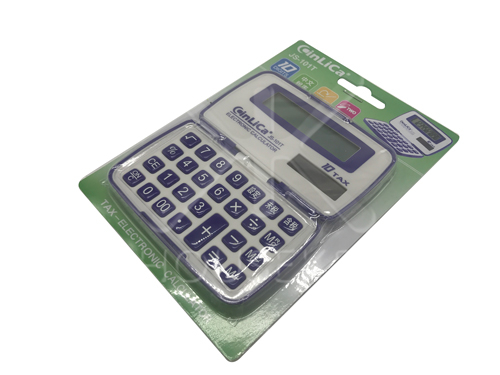 【好市吉居家生活】CinLiCa JS-101T 中文稅率10位計算器 電算機 電子計算機