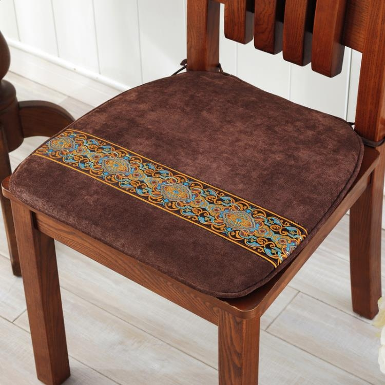 亞星中式簡約餐椅墊椅子坐墊紅木椅子墊沙發坐墊秋冬加厚坐墊14