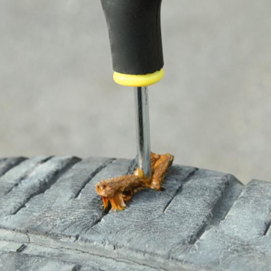 MY COLOR車用補胎工具套裝輪胎摩托車電動車汽車補胎膠條快速破風道路救援N02