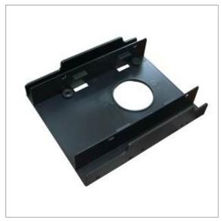 新竹【超人3C】2.5吋 SSD*2 轉3.5支架 黑色 塑膠 硬質PP吊卡包裝