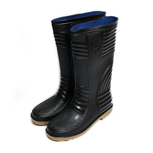 長筒雨鞋 黑 男