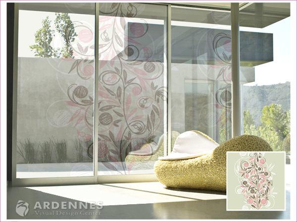 【ARDENNES】防水壁貼 壁紙 牆貼 / 磨砂面 亮面 / 玻璃透明貼紙 GS-004