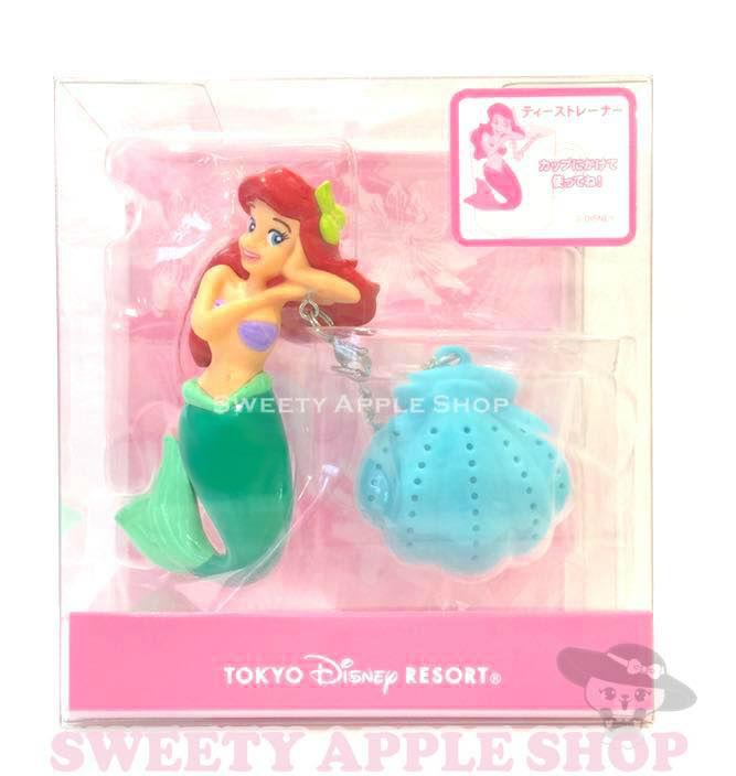東京迪士尼限定小美人魚杯緣子茶葉濾網