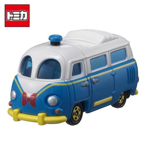 日本進口正版TOMICA多美小汽車唐老鴨巴士DM-08 DISNEY MOTORS迪士尼454199