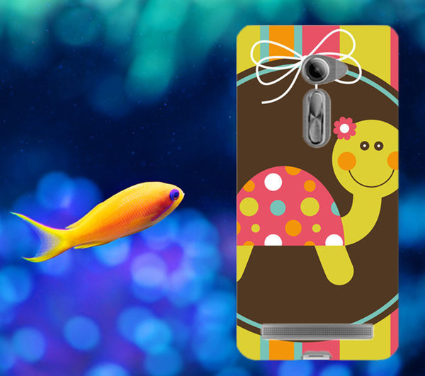 俏魔女美人館ASUS華碩5吋Zenfone 2 ZE500CL烏龜水晶硬殼手機殼手機套保護殼