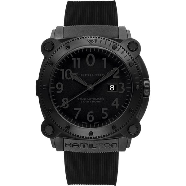 Hamilton漢米爾頓KHAKI NAVY卡其海軍1000米潛水機械腕錶H78585333