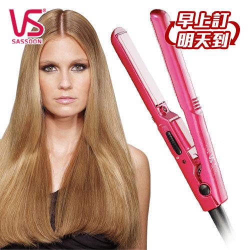 VS沙宣迷你13毫米陶瓷直髮夾VSCS80PW VSCS-80PW離子夾.美髮夾.直髮整髮器
