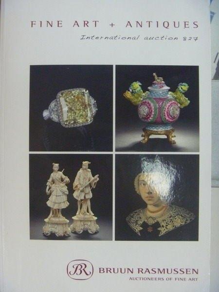 【書寶二手書T9/收藏_YKB】Bruun Rasmussen Fine Art Antiques_2012/2