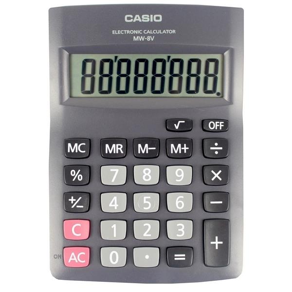 CASIO 卡西歐 MW-8V 國家考試商務計算機 8位數/一台入{促400}~超低特價~