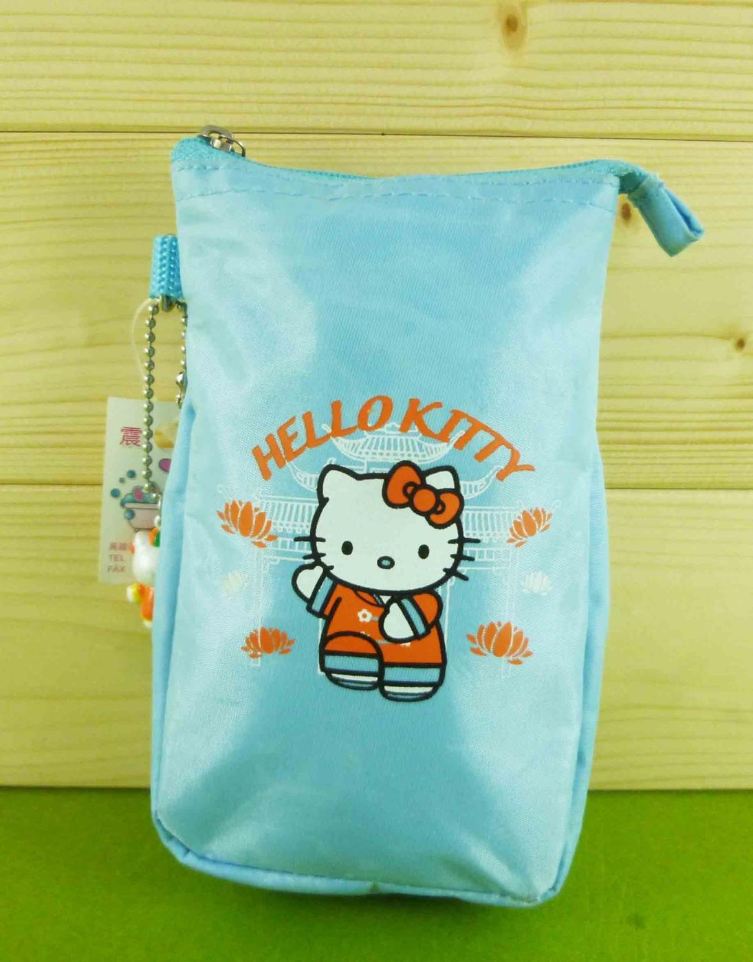 震撼精品百貨Hello Kitty水壺袋-中國風共1款