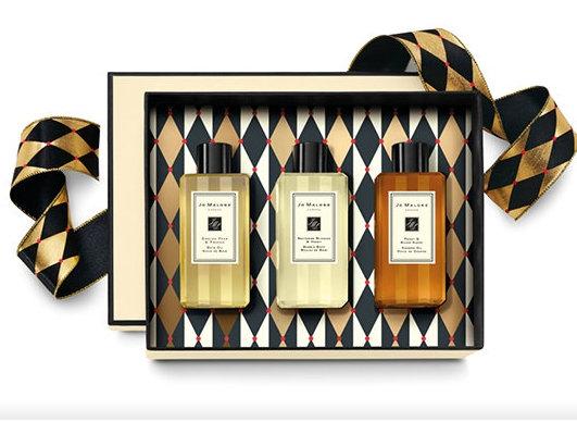 禎的家*英國香水名牌Jo MALONE沐浴組合禮品三件組