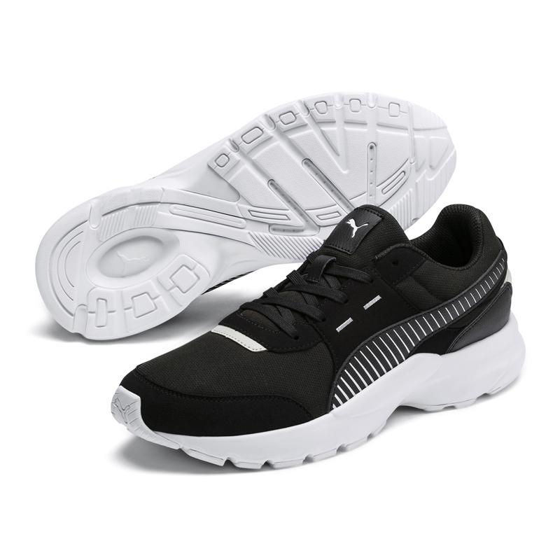 Puma Runner 黑 男女鞋 運動鞋 慢跑鞋 休閒 緩震 EVA中底 健身 輕量 透氣 36803501