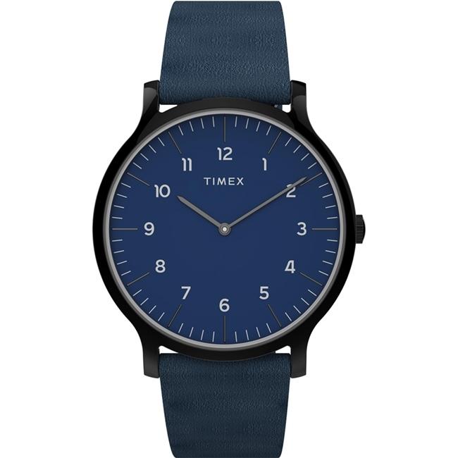 【TIMEX】天美時 復刻系列 極簡復古手錶  (藍 TXTW2T66200)