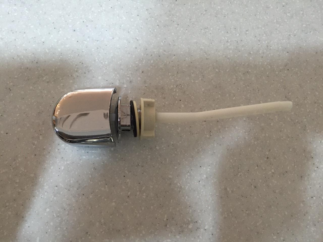 麗室衛浴馬桶單段式旁壓式把手沖水按鈕A-079-3A