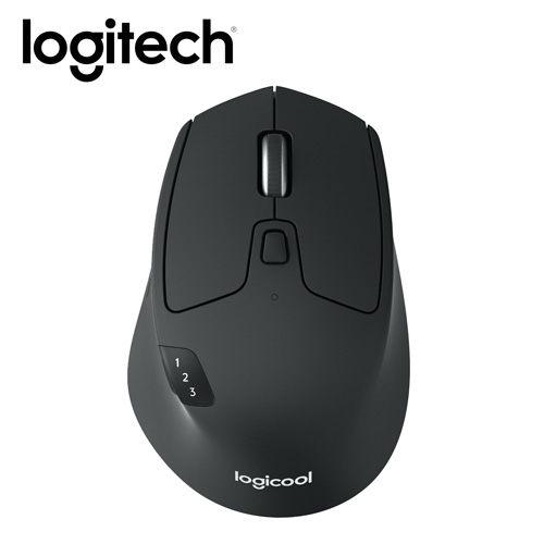 哈GAME族免運刷卡Logitech羅技M720 TRIATHLON多工無線滑鼠跨平台可藍芽可無線